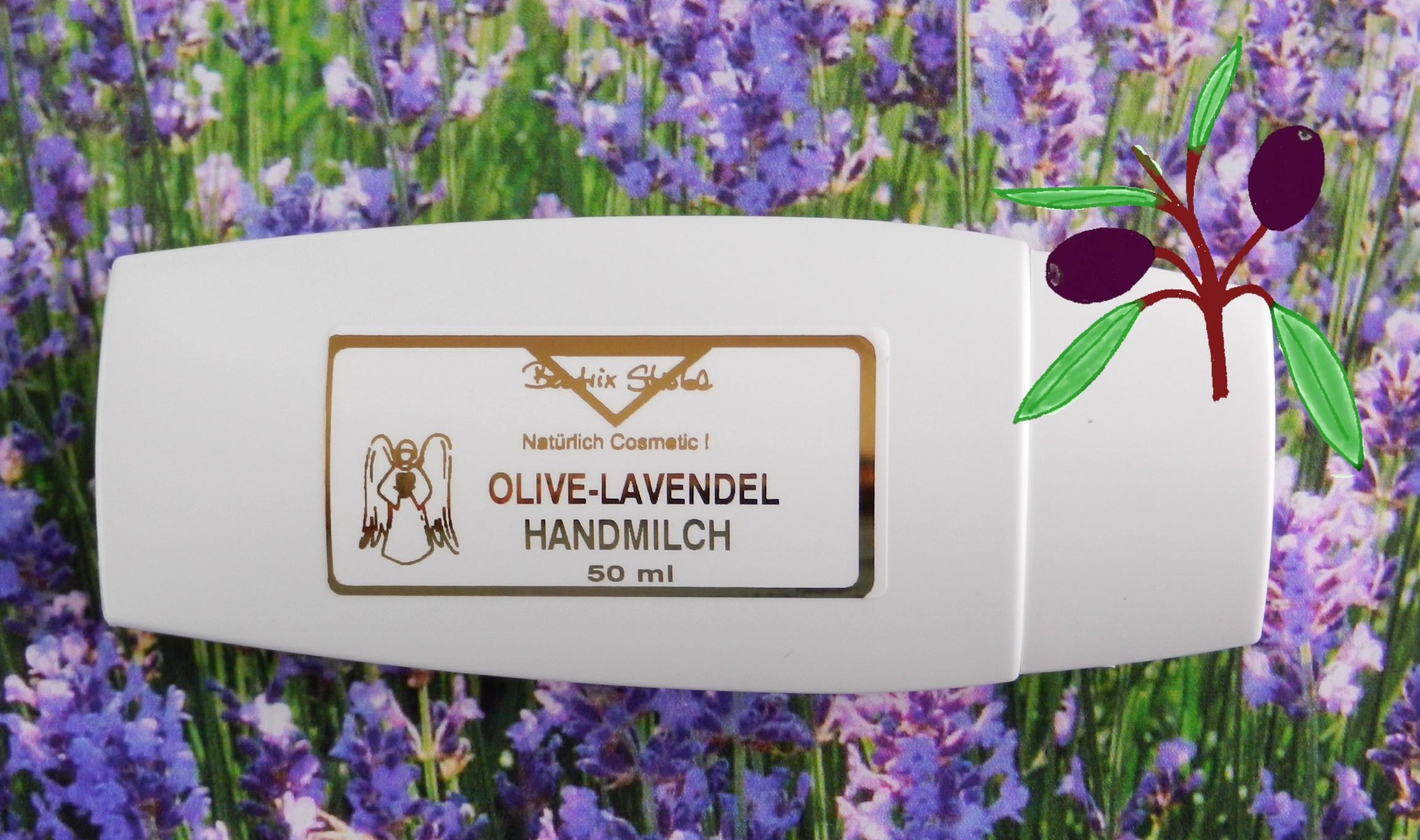 OLIVE-LAVENDEL HANDMILCH