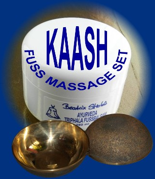 KAASH FUßMASSAGE-SET