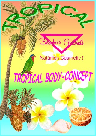 TROPICAL BODY-CONCEPT KABINEN-SET