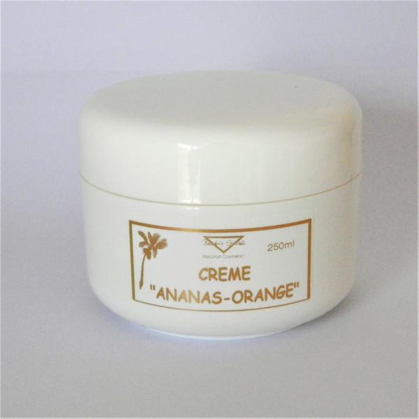 Creme Ananas-Orange - Massage- und Hautpflege-Creme
