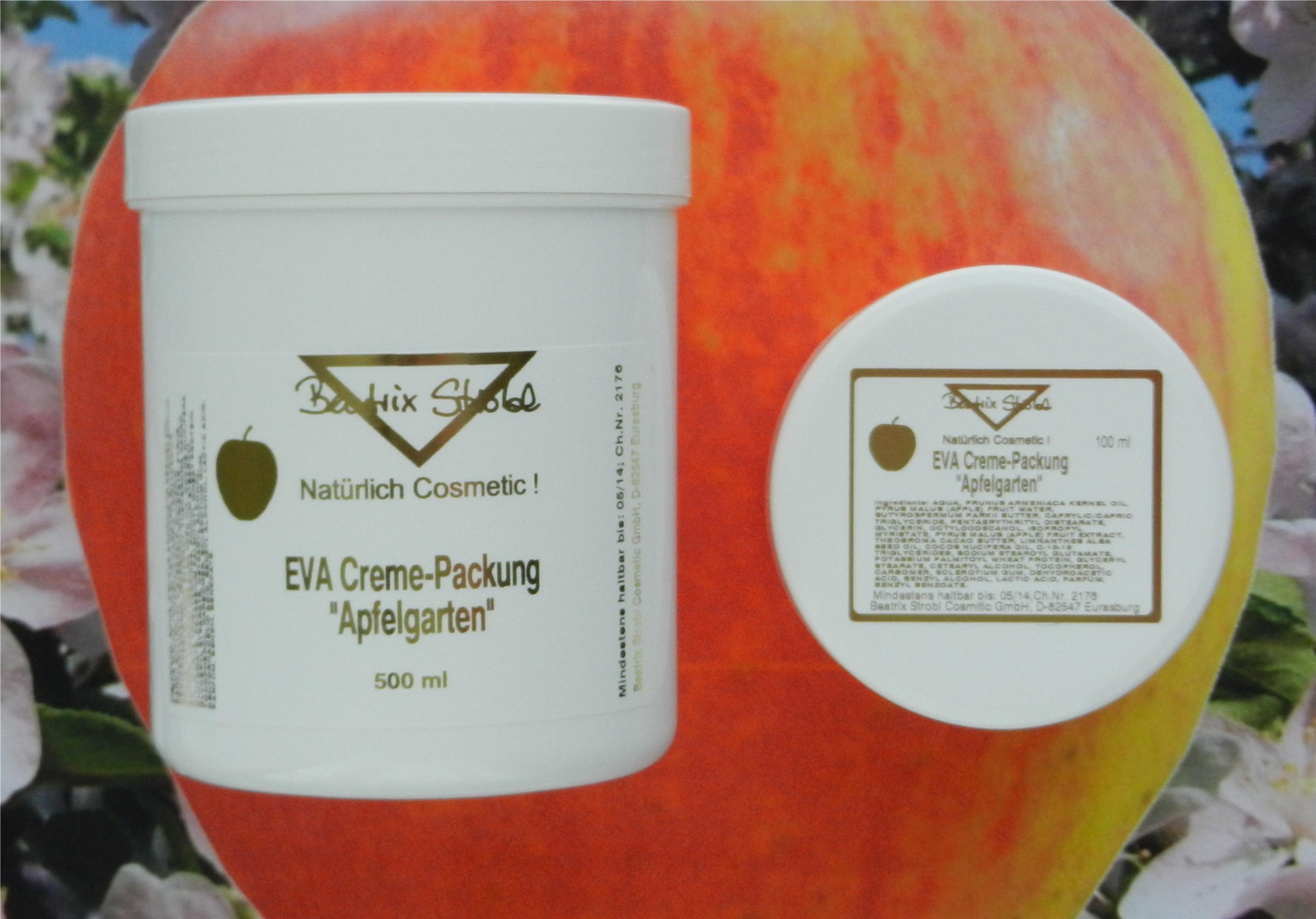 EVA CREME Packung Apfelgarten