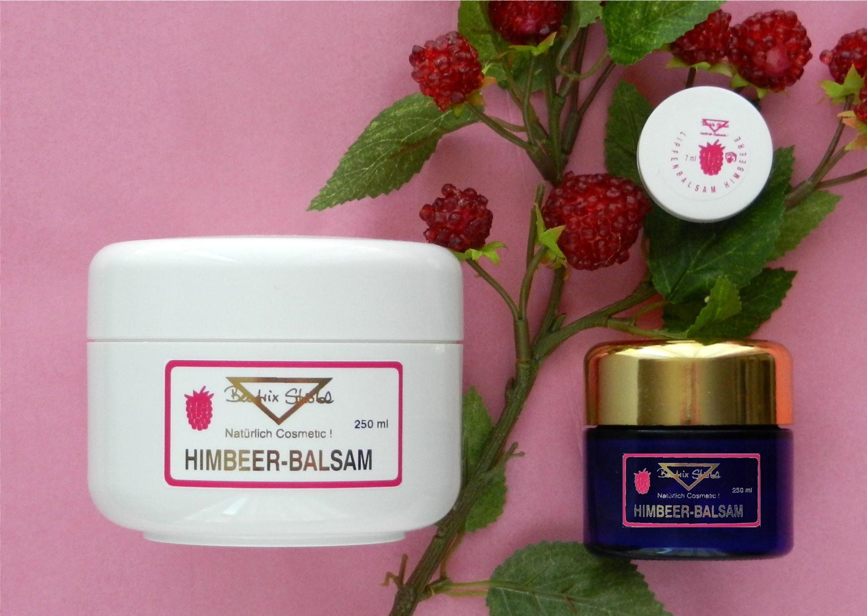 Himbeer-Balsam für Lippen und Augen
