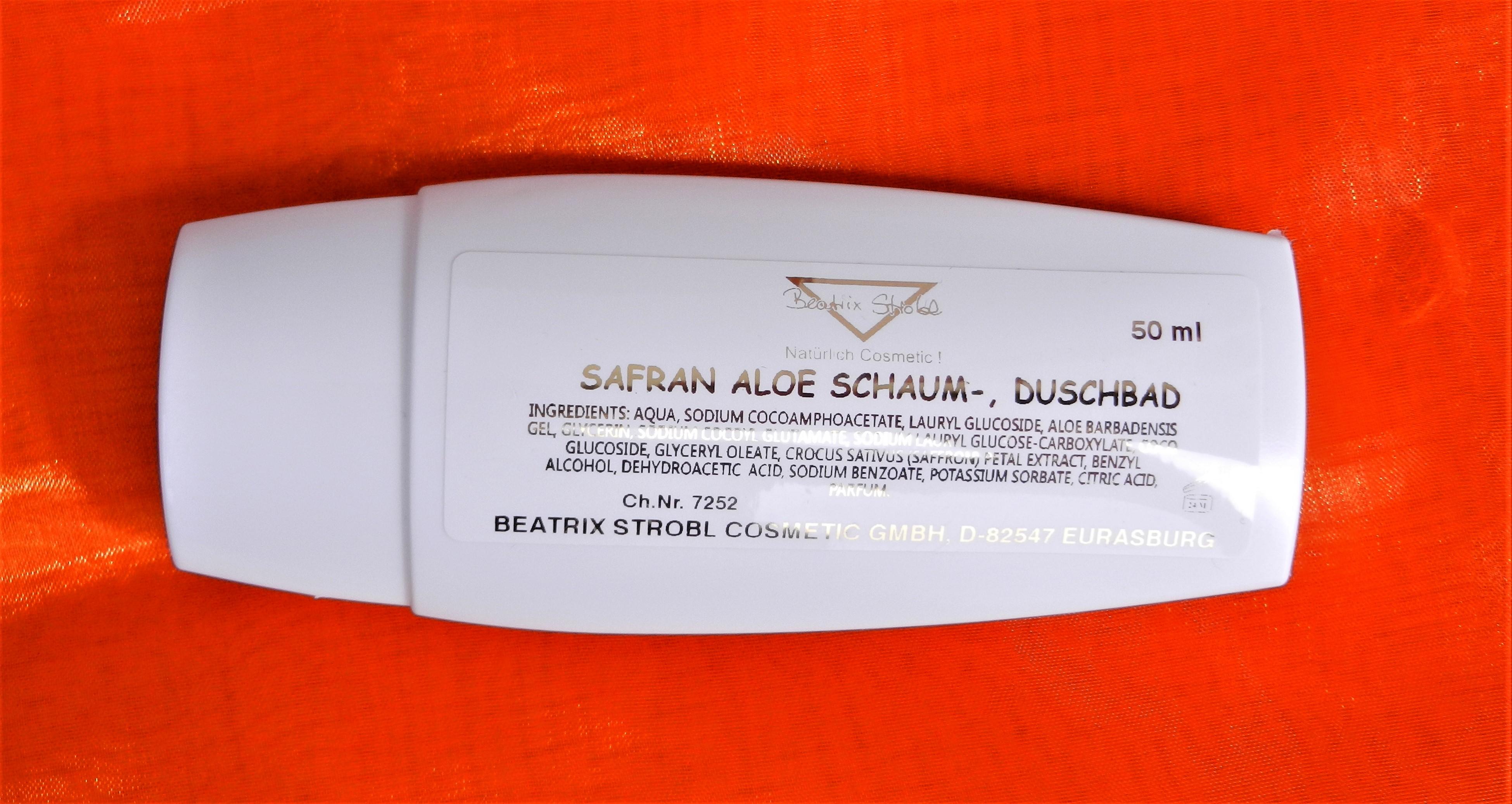 SAFRAN-ALOE Dusch-, Hair- und Schaumbad
