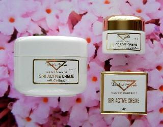 SIRI ACTIVE CREME mit Collagen und Aloe Vera