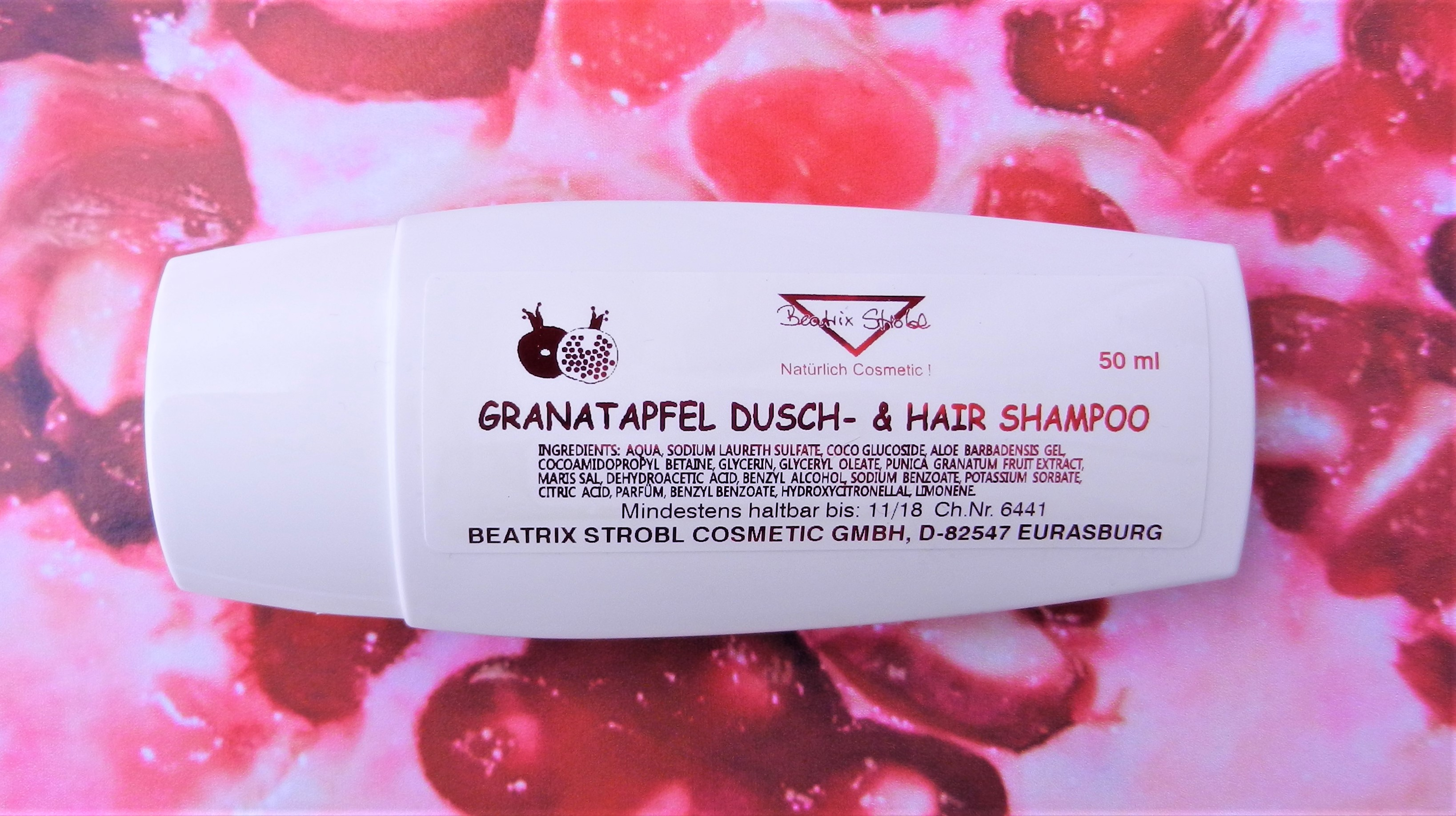 POMEGRANATE DUSCH & HAIR SHAMPOO