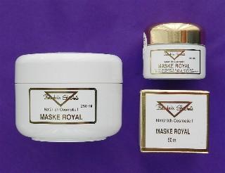 MASKE ROYAL mit Gelee Royal und Stutenmilch