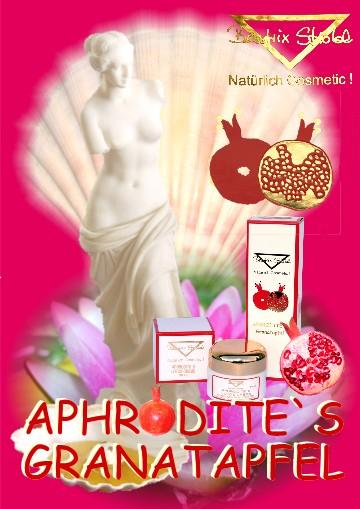 APHRODITE'S GRANATAPFEL SUPER-ANGEBOT GESICHT