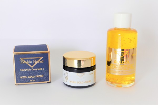 Set WeinGoldcreme + Goldöl