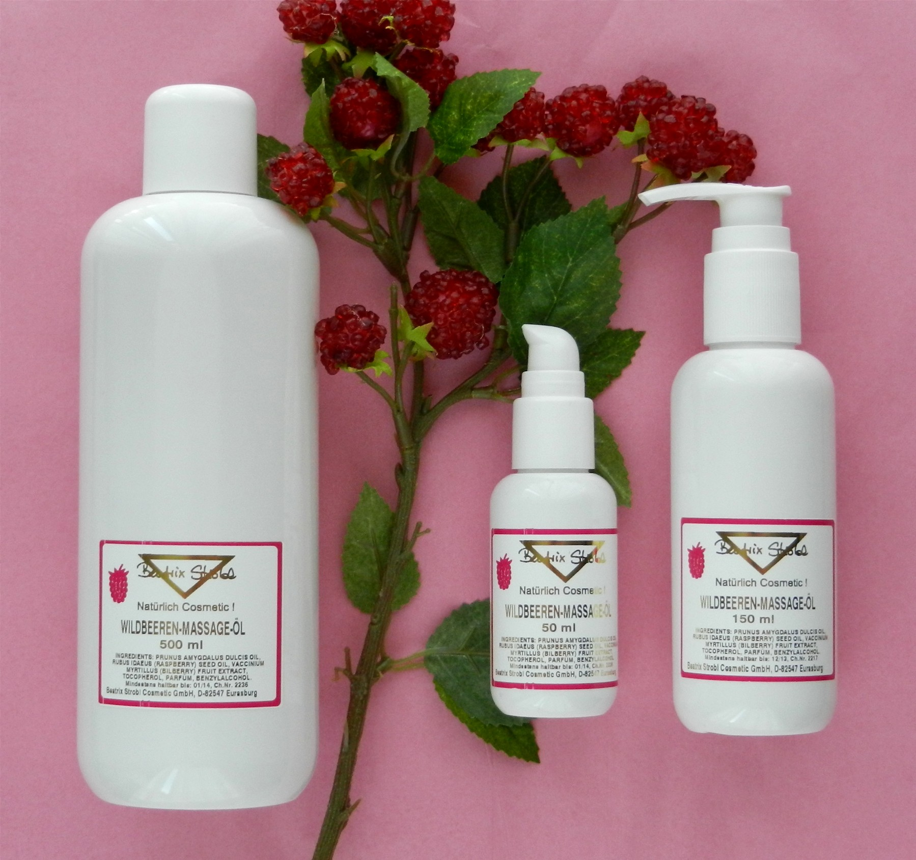 Wildbeeren Massageöl