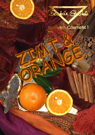 ZIMT-ORANGE Kabinen-Set Gesicht/Körper